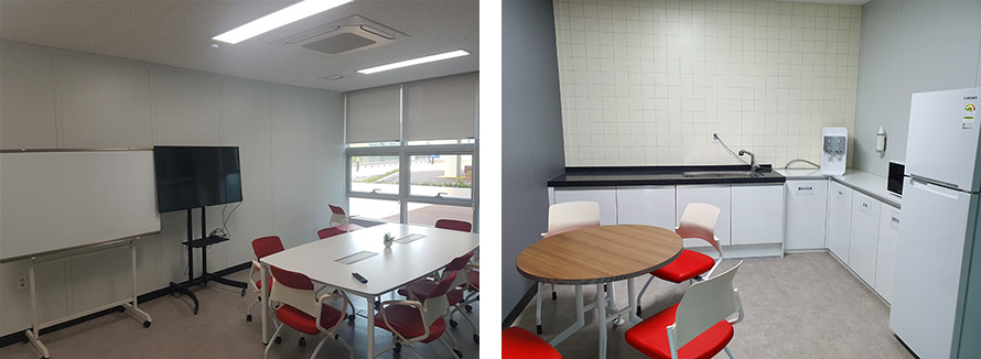 Meeting Room & Kitchen